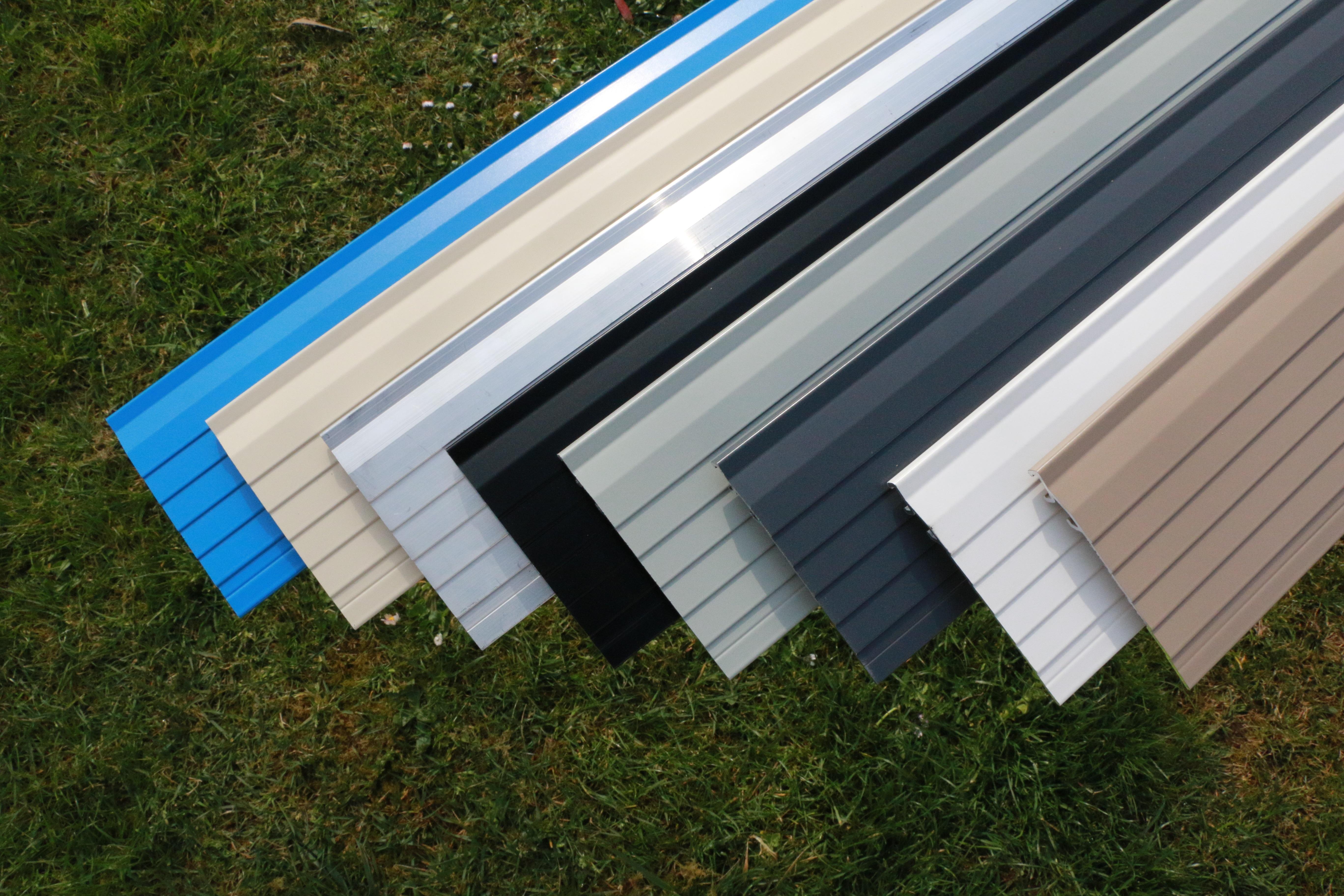 bordure métal alu aluminium jardin