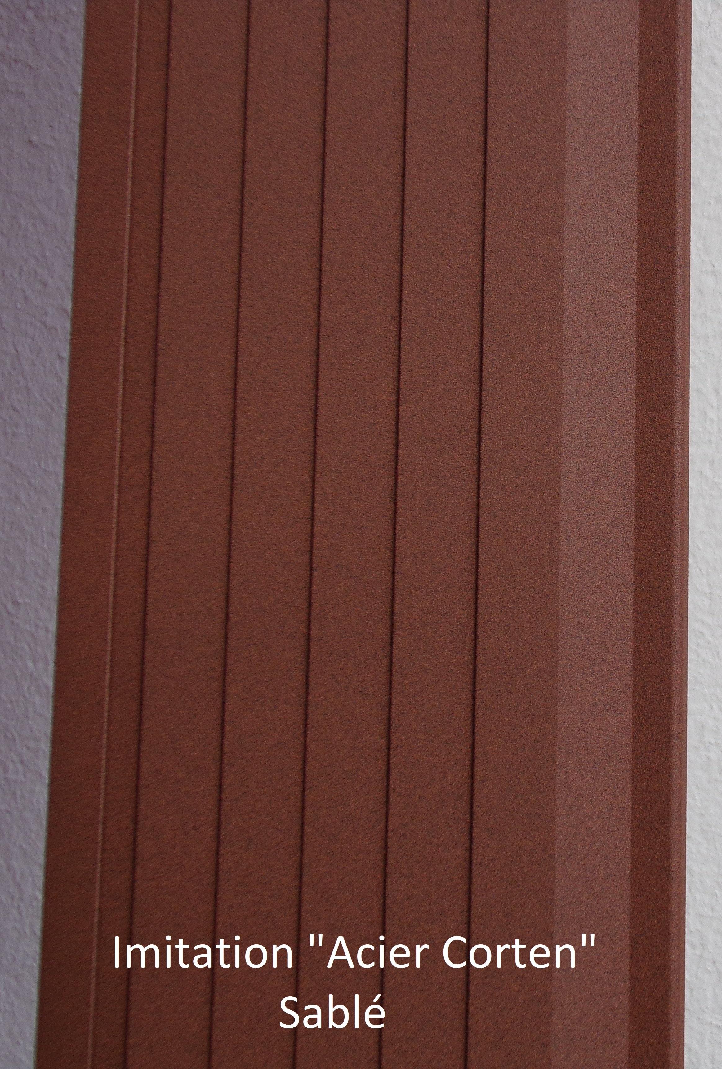 bordure volige séparation délimitation aluminium jardin paillis ardoise galet
