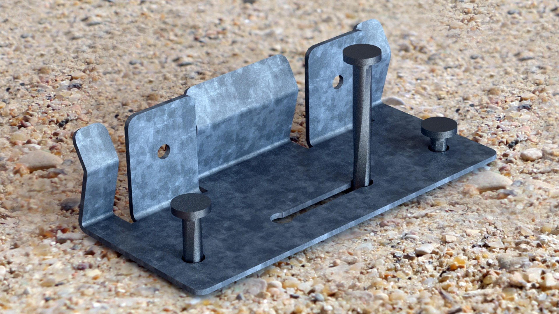 liaison des bordures raccordement jardin galva métal