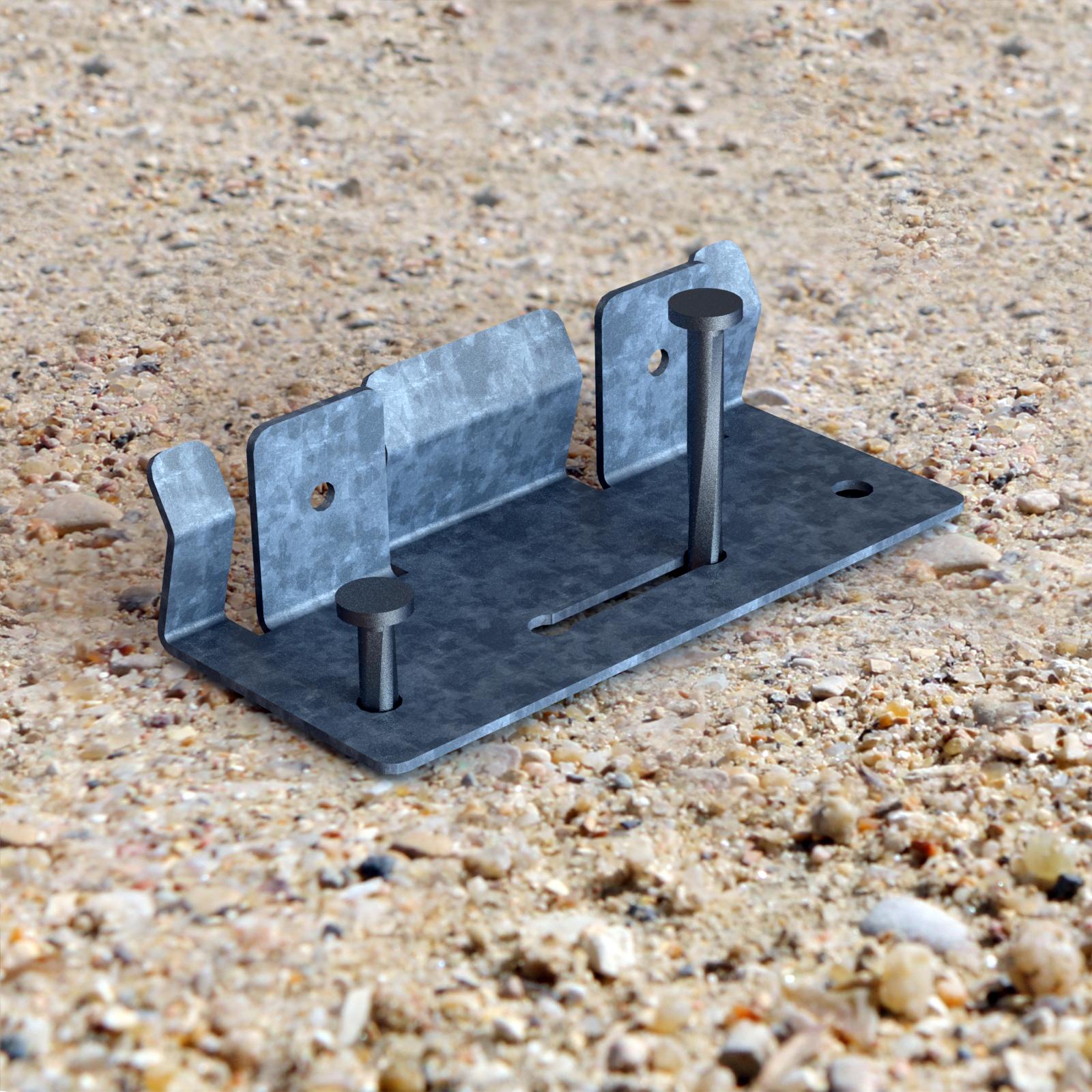 pinces de raccordement jonction pour bordures de jardin en acier fer corten pvc délimitation séparation de massif pelouse gazon