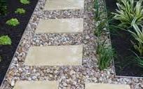 stabilisateur de sol bordure jardin délimitation allée