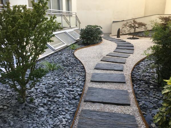 terrasse zen amenagement bonsai et jardins